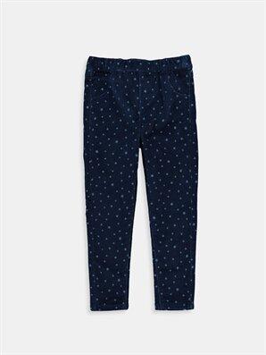 Lacivert Normal Bel Pantolon -6K8387Z4-674