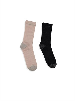 LC WAIKIKI Çok Renkli Çorap 2'li