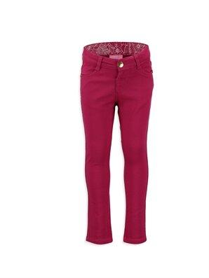 Fuşya Normal Bel Dar Pantolon -7Y0102Z4-HPY