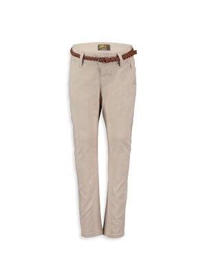 Bej Normal Bel Dar Pantolon -7Y5670Z4-DS3