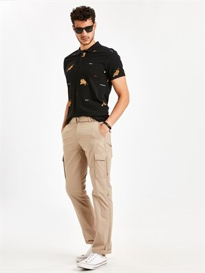 Regular Fit Gabardin Kargo Pantolon - LC WAIKIKI
